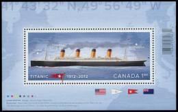 Canada (Scott No.2535 - Titanic) [**] BF / SS - Blocs-feuillets
