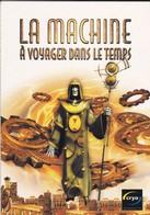PUBLICITE---CRYO--la Machine à Voyager Dans Le Temps-( Carte COM )-voir 2 Scans - Publicité
