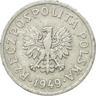 Monnaie, Pologne, 20 Groszy, 1949, Warsaw, TTB, Aluminium, KM:43a - Polonia