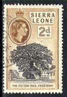 Sierra Leone 1956 -61 QE2 2d Black & Brown Freetown SG 213 ( G1355 ) - Sierra Leone (...-1960)