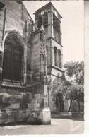 95L02A1 CPSMPF 95 - LOUVRES  LE CLOCHER   1962 - Louvres