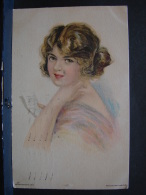 JFC. 115. Jeune Femme. Painted By Alice Luella Fidler. Edward Cross. - Other Illustrators