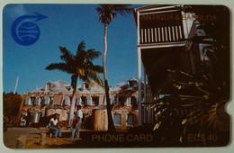 ANTIGUA & BARBUDA - ANT-1D - GPT - $40 - 1CATD - Nelson's Dockyard - VF Used - Antigua And Barbuda