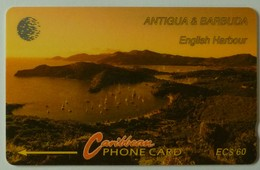 ANTIGUA & BARBUDA - ANT-9A - GPT - $60 - 9CATA - English Harbour - Used - Antigua And Barbuda