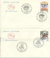 ITALIA - FDC CAVALLINO 1994 - CIBI ITALIANI - IL PANE E LA PASTA -  ANNULLO SPECIALE - 6. 1946-.. Repubblica