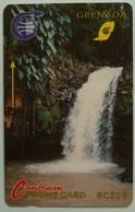 GRENADA - GRE-3A - GPT - 3CGRA - $20 - Waterfall - Used - Grenada