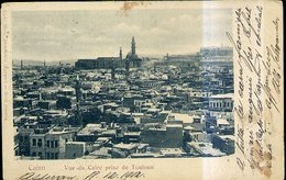 RA655 CAIRO - VUE DE CAIRE PRISE DE TOULOUN ( UNDIVIDED BACK) - Cairo