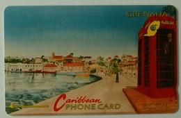 GRENADA - GRE-4C - GPT - 4CGRC - $20 - Carenage St Georges - Used - Grenada