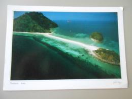 THAÏLANDE KRABI  A CORRIDOR OF WHITE SAND CONNETS KOH MOR AND KOH DAM KHWAN ISLANDS AT LOW TIDE - Thaïlande