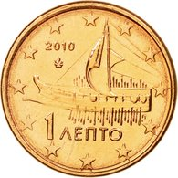 Grèce, Euro Cent, 2010, SPL, Copper Plated Steel, KM:181 - Grèce