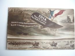 Guerre 14.18  Avion 1914 Pour Le Droit Pour La Civilisation - Guerre 1914-18