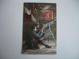 La Chanson De La Mitrailleuse Guerre 14.18 - Guerre 1914-18