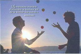 Scouts Et Guides De France - Baden Powel - Le Meilleur Moyen D'atteindre Le Bonheur Est De Le Donner Aux Autres - Scoutisme