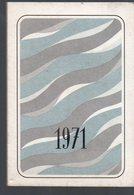 Levallois (92 Hauts De Sene) Calendrier-carnet 1971  IMPRIMERIE JEAN GILLE (PPP15360) - Calendars