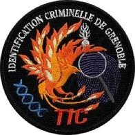 Patch TECHNICIEN EN INVESTIGATIONS CRIMINELLES GRENOBLE TIC GENDARMERIE - Police & Gendarmerie