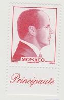 Monaco N° 2562a Albert II Rouge Philaposte 2009 - Nuovi