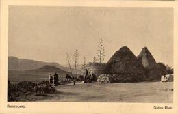 BASUTOLAND - Native Huts - Lesotho