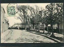 CPA - PORT LOUIS - La Muse Et La Rue De La Citadelle, Animé - Port Louis