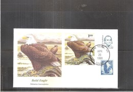 U.S.A. - FDC Natioanal Audubon Society - Bald Eagle (to See) - Aigles & Rapaces Diurnes