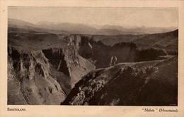 """BASUTOLAND - """"Maluti"""" (Mountains) - Lesotho"""
