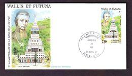 FRANCE COLONIE WALLIS ET FUTUNA PA N° 115 ENVELOPPE 1987 - Luftpost