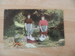 1904  A Sctoch Washing Carte Colorisee Laveuse Blanchisseuse - Aberdeenshire