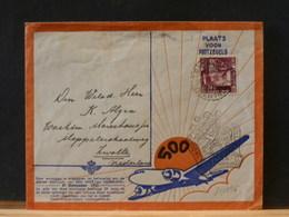 81/296   BRIEF NED.INDIE  1937  BIJZONDERE VLUCHT - Indes Néerlandaises