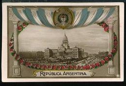 RA669 REPUBLICA ARGENTINA , CONGRESO - Argentina