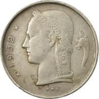 Monnaie, Belgique, Franc, 1952, TB+, Copper-nickel, KM:143.1 - 1951-1993: Baudouin I