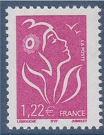 Marianne De Lamouche ITVF 1.22€ Lilas N° 3758 Neuf Gommé - 2004-08 Marianne De Lamouche