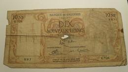 1960 - Algérie - Algeria - 10 NOUVEAUX FRANCS - K.506 - 12634895 - Algerien