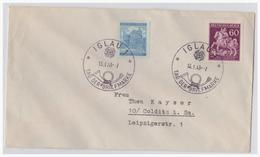DT-Reich WKII Böhmen Und Mähren (002415) Briefumschlag Mit Sonderstempel 114, Blanco Gest. Iglau, 13.1.1943 - Böhmen Und Mähren