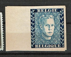E 52 C Découpé Bleu - Belgique