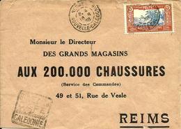"""De NOUMEA Avec N° 151 Pour REIMS  -Daguin """"BUVEZ Le CAFE""""  - 1938 - - Neukaledonien"""