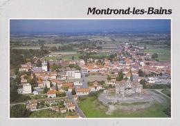 42 MONTROND LES BAINS / VUE UNIQUE / VUE GENERALE AERIENNE - France