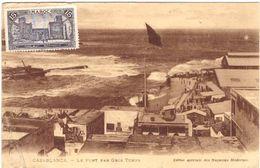 Casablanca Le Port Par Gros Temps - Casablanca