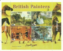 PINTURA BRITANICA SOMALIA 1999   ** MNH - Arte