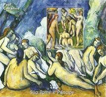 PAUL CEZANNE SANTO TOME Y PRINCIPE 2005   ** MNH - Arte