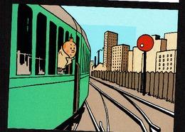 TRV Bl 12 Carte Tintin Dans Son Enveloppe - Belgique