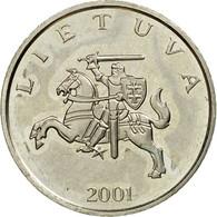 Monnaie, Lithuania, Litas, 2001, TTB, Copper-nickel, KM:111 - Lituanie