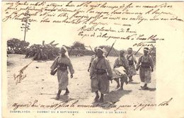 Casablanca Combat Du 3 Septembre Transport D'un Blessé - Casablanca