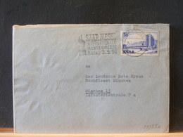 81/250 LETTRE SAAR  1954 - Covers & Documents