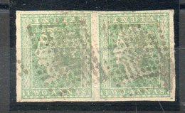 JOLIE PAIRE DU N° 4 OBLITEREE POUR 15 EUROS COTE + DE 70 EUROS - 1854 Compagnie Des Indes