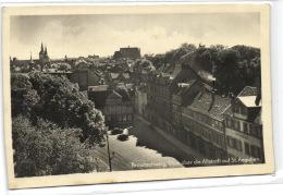 1 Ansichtkarte Braunschweig Blick über Die Altstadt Auf St. Aegidien - Braunschweig