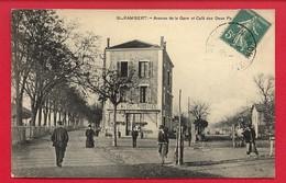 Drôme - Saint Rambert D'Albon - Avenue De La Gare Et Café Des Deux Passages - Autres Communes