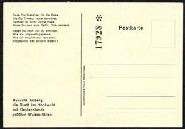 B8194 - TOP Triberg - Eintrittskarte - Ansichtskarte - Eintrittskarten