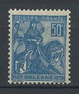 FRANCE 1929 N° 257 ** Neuf MNH Superbe C 3.50 € +  Jeanne D'Arc Délivrance D' Orléans Chevaux Horses - Unused Stamps