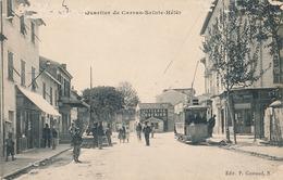 NICE - N° 206 - QUARTIER DE CARRAS SAINTE HELENE (TRAMWAY) - Straßenverkehr - Auto, Bus, Tram