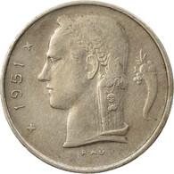 Monnaie, Belgique, Franc, 1951, TTB, Copper-nickel, KM:143.1 - 1951-1993: Baudouin I