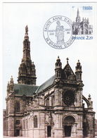 Carte-Maximum FRANCE N° Yvert 2134 (SAINTE ANNE D'AURAY) Obl Sp Ill 1er Jour (Ed Emp) - 1980-89
